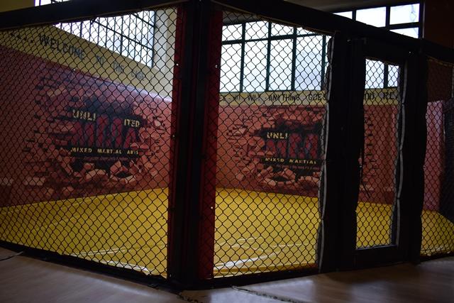 La gabbia di MMA